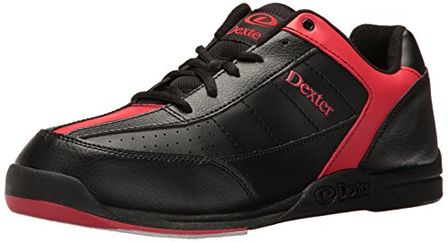 Herren Bowlingschuhe Dexter Ricky III schwarz/rot schwarz schwarz/red US 8.5, UK 7