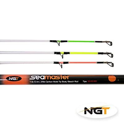 SEAMASTER - 3+3 Tip Carbon Beach / Boat Convertible Rod from NGT