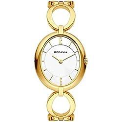RODANIA Desire Chloe Reloj DE Mujer Cuarzo DIAL Blanco 26180.6