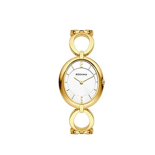 RODANIA WOMEN'S DESIRE CHLOE GOLD IP BRACELET & CASE QUARTZ WATCH 26180.6