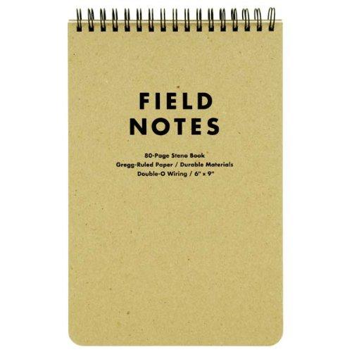 Field Notes Steno Block - 80 Seiten - 15 cm x 23 cm
