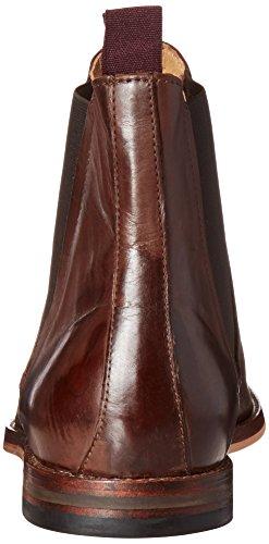 Hudson Tamper, Herren Chelsea Boots Braun