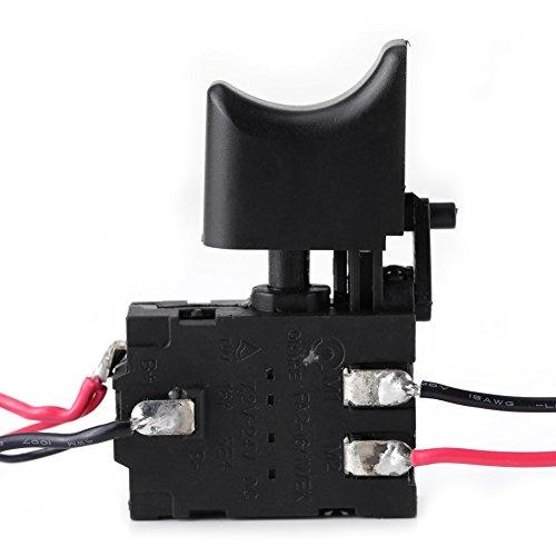 12V Interruptor de Gatillo sin Cuerda del Control de Velocidad del Taladro...