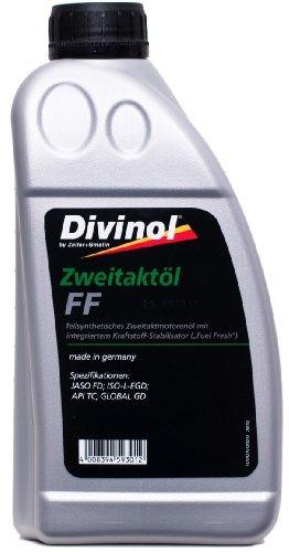 Divinol Zweitaktöl FF 1x1 Liter 2-Taktöl teilsynthetisch 2T Mischöl