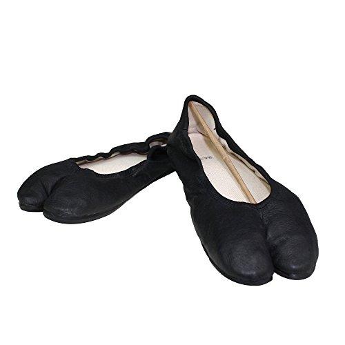 Tabi Leather Black Trazita Ikitabi Size5 By Ballerinas 7Yybf6g