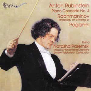Rubinstein: Piano Concerto No. 4; Rachmaninov: Rhapsody On A Theme of Paganini