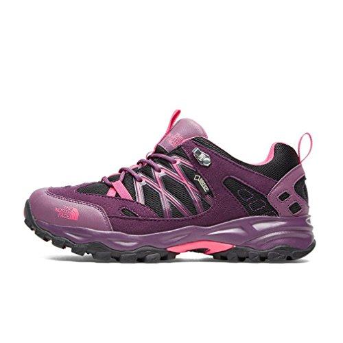 Zapatos-para-caminar-para-mujer-North-Face-Terra-Gtx-Boots-para-el-calzado-al-aire-libre-Pink-Rosa-38