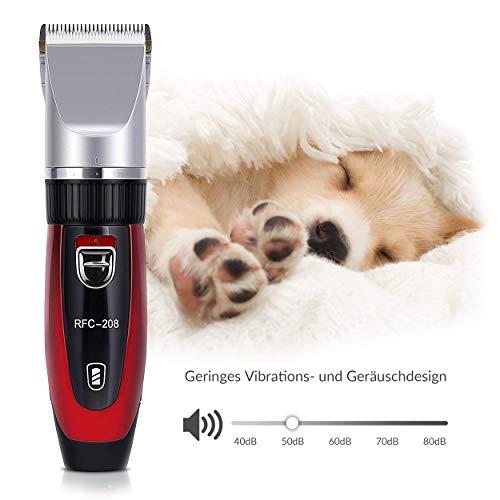 Original Elektrischer Akku RFC-208® Tierhaarschneider Hunde Katzen Schermaschine Tierhaarschneidemaschine - 3