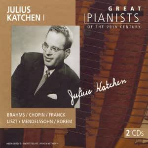 Julius Katchen I : Great pianists of the 20th century