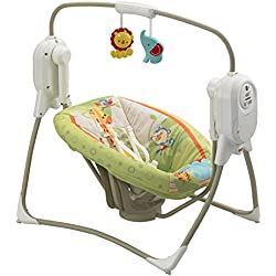Mattel BFH05 - Fisher-Price Rainforest Babyschaukel, zusammenklappbar