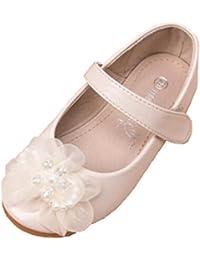 Ohmais Sandalias de Vestido Flat Shoes Bailarinas Princesa Zapatos Para Niña