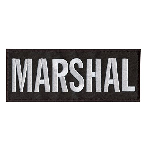 Marshal Large XL 10'x4' Body Armor Plate Carrier Taktisch Tactical Embroidered Hook&Loop Aufnäher Patch -