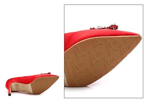 donna Con Plateau Flat Red Meijili xEPq0gP