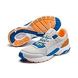 Puma Unisex-Erwachsene Future Runner Premium Sneaker, Grau (Gray Violet-Indigo Bunting-Orange Pop 2), 42 EU
