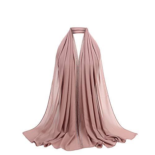 Vendita calda poncho e mantelle da donna,stole donna elegante cerimonia blu,moda donne le signore chiffon sciarpa musulmano morbido avvolgere lungo scialle
