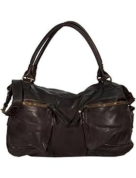 Costalle - Leder Schultertasche Shopper MEDITERRAN URBAN BAG Damen Handtaschen Henkeltaschen Umhängetasche 49x30x12...