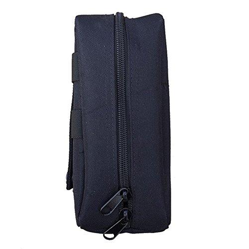Reefa Tarnung Bergwandern Outdoor-Sportarten Mini-Paket Schwarz