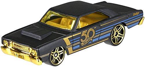 (HotWheels 50th Anniversary Black & Gold FRN37 – 1968 Dodge Dart 4/7)