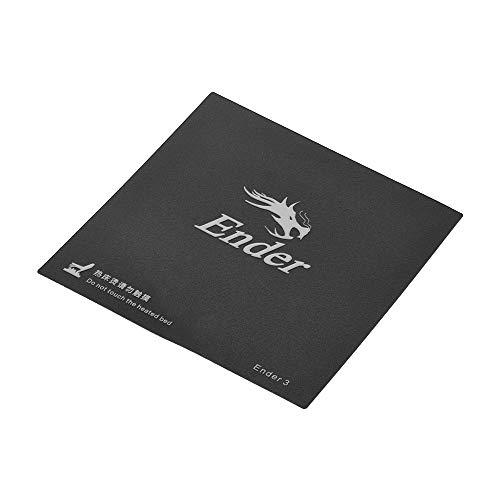 Aibecy Foglio stampante adesivo Creality 3D Build superficie letto calore piattaforma 9 pollici * 9 pollici per Ender-3