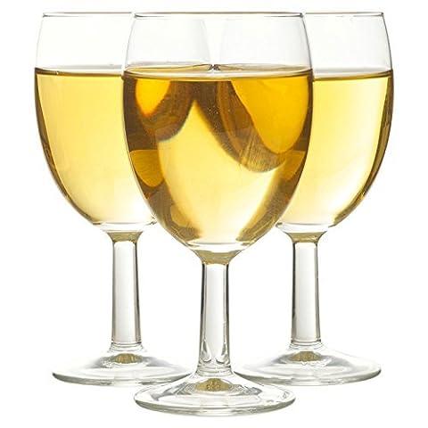 vintia contemporain Verre à vin ensembles, 19cl; Quantity Of Cups:3