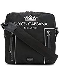 Dolce   Gabbana Borsa Messenger Uomo BM513AAS658HNR18 Poliammide Nero 54fd013de0b