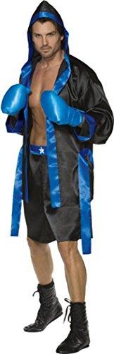 Schwarz Männlich Kostüm - Herren Sexy Fancy Dress Fever Daunen für der Graf männlich Kostüm schwarz & blau