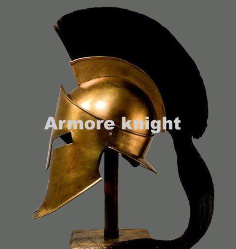 ANTIQUENAUTICAS 300 Spartan König Leonidas Film mittelalterlichen Römischen Helm Griechischen Liner Reenactment (Eishockey-helm-liner)