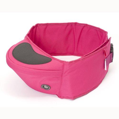 Hippychick HCHIP0003 - Asiento de cadera portabebés, color rosa