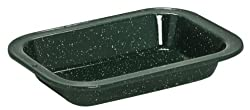 Cinsa 311328 Camp Ware Multiuse Rectangular Plate, 1-Quart, Green Tundra