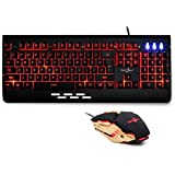 Redgear Manta MT21 Gaming Keyboard and Gaming Mouse Combo (Black)