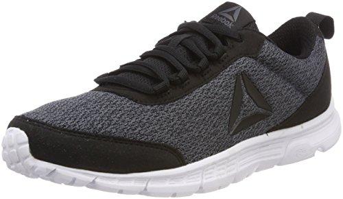 Reebok Speedlux 3.0, Zapatillas de Running para Hombre, Negro (Black/Ash Grey/White 0), 40 EU