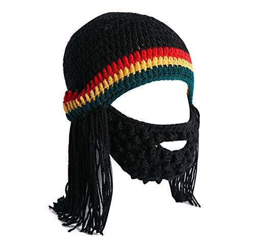 Bob Marley Halloween Kostüm - Lantra Besa Damen Herren Rasta Perücke