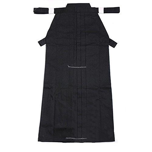ZooBoo Kampfsport Kendo Martial Arts-Uniform - Traditionelle Japanische Herrenkleidung für Kampfkunst Karate Kung Fu Ninja Aikido Trainingsanzug Keikogi Kendo Gi und Hakama Hosen für Männer und Frauen als Anfänger - aus Baumwolle
