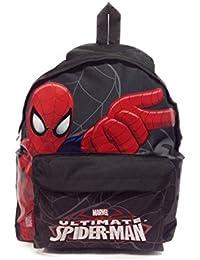 Spiderman - - Sac à dos Spiderman Ultimate Borne 40 CM Haut de Gamme