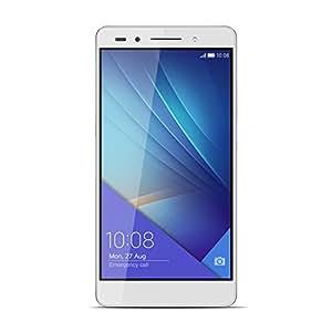 Honor 7 Smartphone 4G, Display Full HD 5.2 Pollici, Processore Kirin 935 Octa Core 2.2 GHz, 16 GB Memoria Interna, 3 GB RAM, Fotocamera 20 MP, Argento