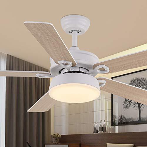 WWLONG - Lámpara de Techo para Ventilador de Techo LED, 106,68 cm x 121,92 cm, con Ventilador de Techo...