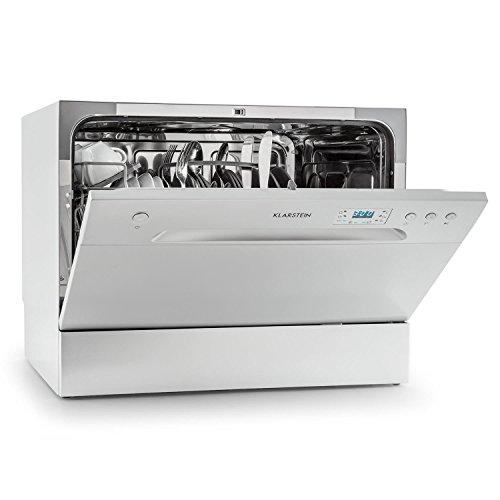 Klarstein Amazonia 6 Argentea • Spülmaschine • Tischgeschirrspüler • kompakter Geschirrspüler • 55 cm breit • für 6...