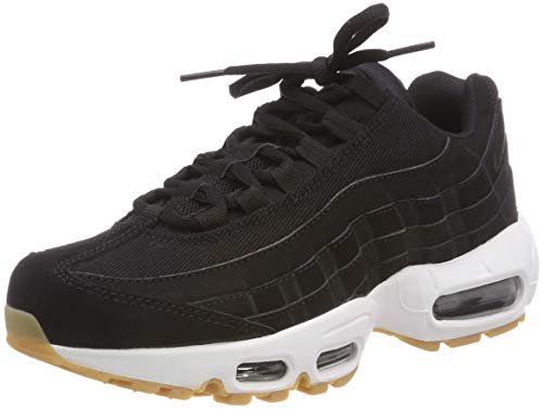 Nike Wmns Air MAX 95, Zapatillas para Mujer, Negro Black-Anthracite-Gum Light Brown 017, 37.5 EU