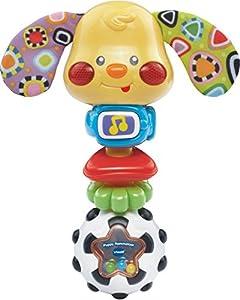 VTech Baby Puppy Rammelaar Niño/niña - Juegos educativos, Niño/niña, 2 año(s), Perro, Holandés, De plástico