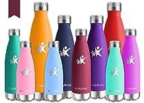 Perché avete bisogno di KollyKolla bottiglia d'acqua?  Ritemprare l'umidità del corpo e rimanere attivi  L'idratazione è fondamentale per mantenere uno stile di vita sano. Sia che siate a casa, fuori, scuola, ufficio, palestra, o diretto al campeggio...