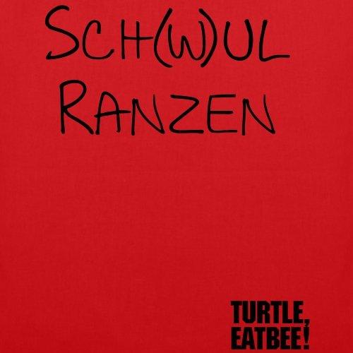 Spreadshirt Sch(w)ulranzen Stoffbeutel Rot