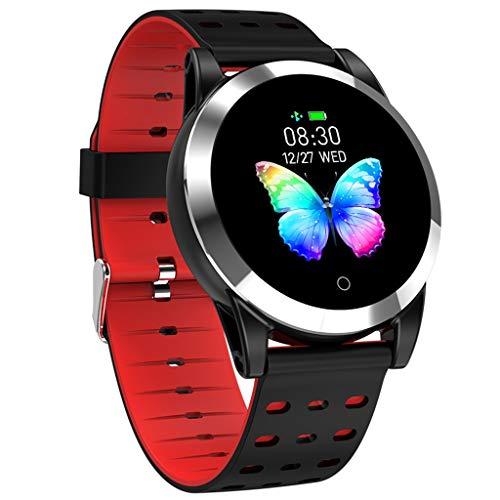 Fitness Armband mit Pulsuhr, Elospy Wasserdicht IP68 Schrittzähler Fitness Uhr Farbbildschirm Fitness Tracker Pulsmesser Smartwatch Aktivitätstracker für Damen Herren für IOS Android Smartphone