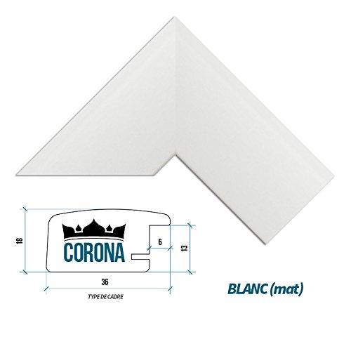 cadre-photo-corona-61-x-91-cm-blanc-mat-7-couleurs-noir-blanc-hetre-brun-fonce-alu-brosse-mat-et-bri