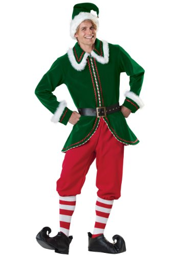 Elf Kostüm Incharacter - InCharacter Santa Claus's Helper Elf Christmas Costume L
