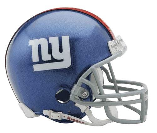 NFL Riddell Football Mini-Helm New York Giants