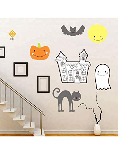 ber Halloween Waterproof Home Decor Kids Wall Sticker, Wandaufkleber Wall Stickers Product ()