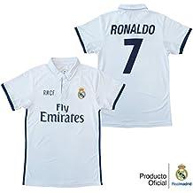 ae568a6f2bd12 REAL MADRID- Camiseta 1ª Equipación Adulto 2016-2017