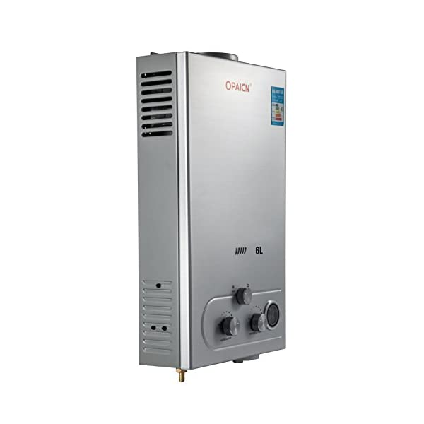Cueffer LPG Calentador de Agua Calentador de Agua de Gas Licuado 36KW Calentador de Agua Automático LCD Digital…