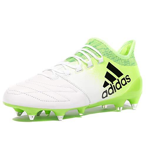 adidas X 16.1 SG Fußballschuhe BB2126 Leder Weiß Grün Neu & OVP Gr. 44 2/3