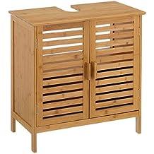 Muebles Bajo Lavabo Rusticos.Amazon Es Mueble Bano Bambu